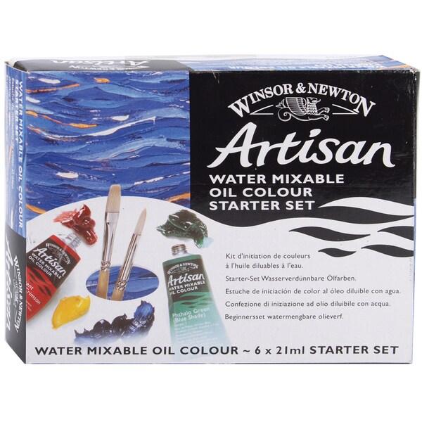 Winton Artisan Water Mixable Oil Paint Starter Set