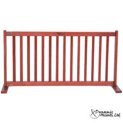 "Dynamic Accents Kensington Large 20"" Tall Cherry Wooden Pet Gate"