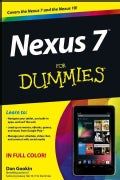 Nexus 7 for Dummies (Paperback)