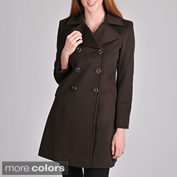 Larry Levine Women's Lora Piana Wool Coat