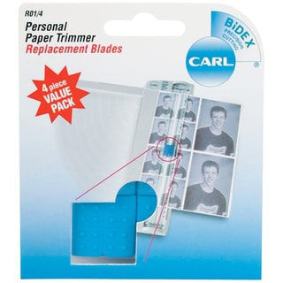 Personal Paper Trimmer Replacement Blades 4/Pkg-Straight