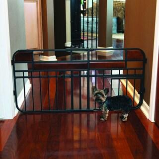 Carlson Design Studio Mini Tuffy Expandable Wood Metal Gate
