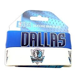 Dallas Mavericks Rubber Wrist Band (Set of 2)