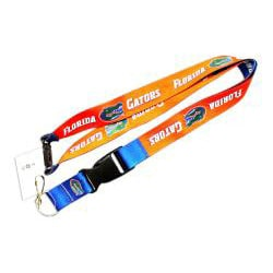 Florida Gators Reversible Lanyard Keychain Ticket ID Holder