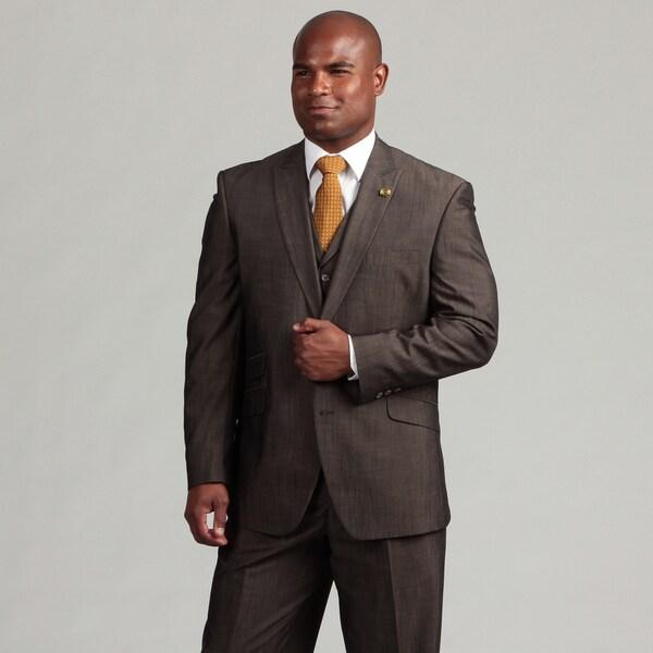 Phat Farm Men's 2-button Vested Suit