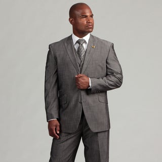 Phat Farm Men's 2-button Vested Suit