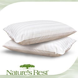 Nature's Rest Eco Fiber 300 Thread Count Bed Pillow (Set of 2)