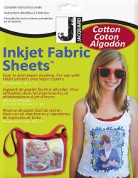 Inkjet Fabric Sheets-8-1/2