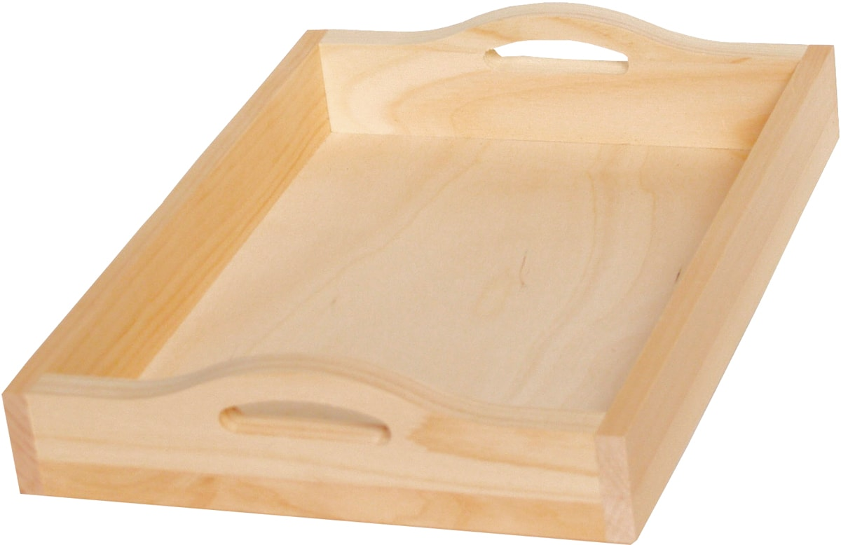 """Pine Rectangle Serving Tray-15""""X11""""X2.88"""""""