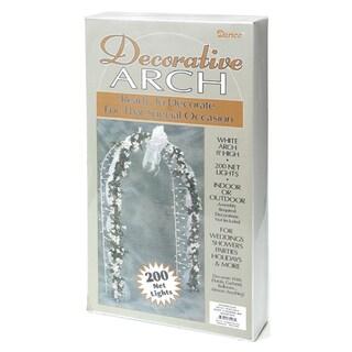 Decorative Arch 8 Feet-White