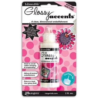 Ranger Inkssentials Two-ounce Glossy Accents Precision-tip 3-D Medium