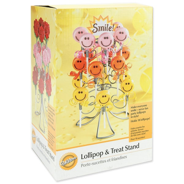 "Lollipop & Treat Stand-Holds 18 Treats 6""X14"""