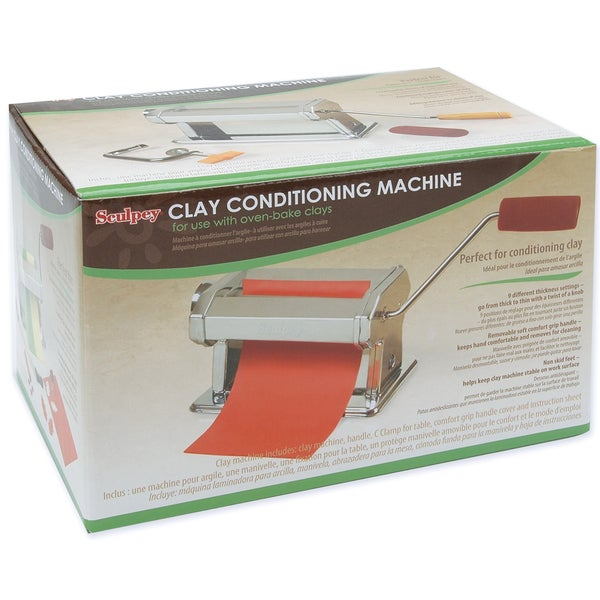 Sculpey Clay Conditioning Machine-
