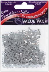 Rhinestone Setter Hot-Fix Embellishments 3mm 1000/Pkg-Crystal Glass Stone