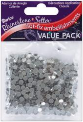 Rhinestone Setter Hot-Fix Embellishments 4mm 750/Pkg-Crystal Glass Stone