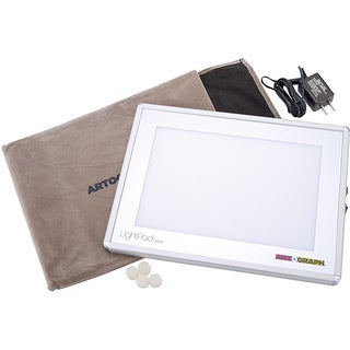 Artograph LightPad Hobby Photo LED Light Box (8.6 inches x 11.6 inches x .625 inches)