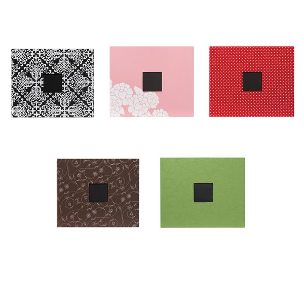 Patterned D-Ring Album 12X12IN