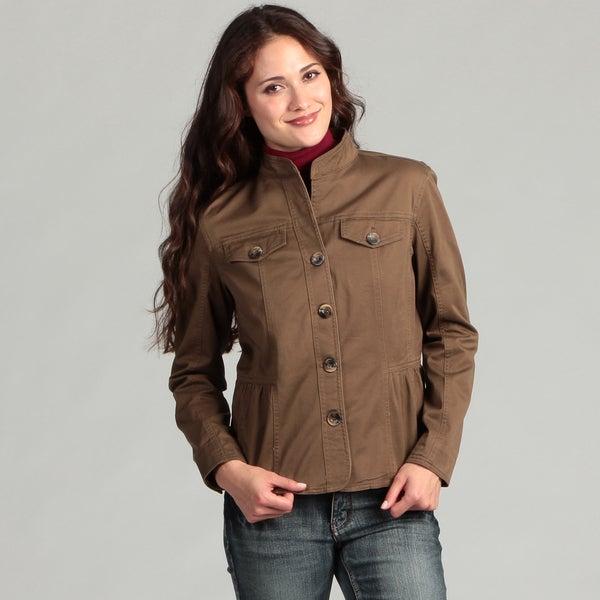 Live a Little Women's Unlined Side Tab Jacket