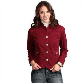 Live a Little Women's Pleat Pocket Jacket