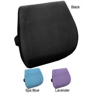 Memory Foam Massage Lumbar Cushion with Heat