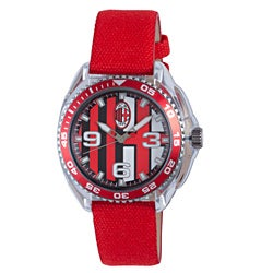 Chronotech Children's Red Canvas Watch