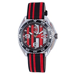 Chronotech Children's Black and Red Canvas Watch