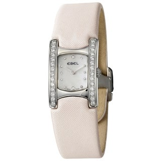 Ebel Women's 'Beluga Manchette' Stainless Steel Watch