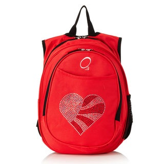 Obersee Kids All-In-One Flag Heart Backpack With Cooler