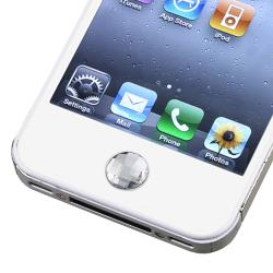 Clear Diamond Home Button Sticker for Apple iPhone/ iPad/ iPod