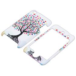 White Love Tree Hearts Case for Apple iPod Touch Generation 4
