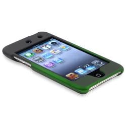 Black to Green Snap-on Case for Apple iPod Touch Generation 4