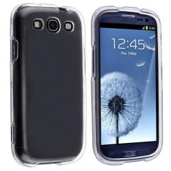 Clear Snap-on Crystal Case for Samsung Galaxy S III i9300