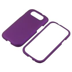 Purple Snap-on Rubber Coated Case for Samsung Galaxy S III i9300