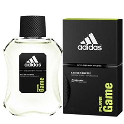 Adidas 'Pure Game' Men's 3.4-ounce Eau de Toilette Spray