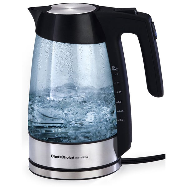 Chef's Choice 679 Cordless 1.75-Quart Electric Glass Kettle