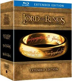 Lord of the Rings Trilogy - Extended Editions Box Set (Blu-ray Disc)