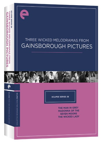 Eclipse Series 36: Three Wicked Melodramas from Gainsborough Pictures (DVD)