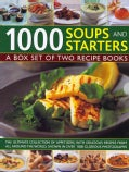 1000 Soups and Starters: A Box Set of Two Recipe Books (Hardcover)