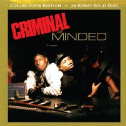 Boogie Down Productions - Criminal Minded Gold Disc