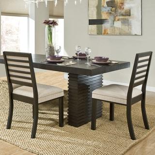 Abingdon Rich Espresso Retro Modern Dining Chair (Set of 2)