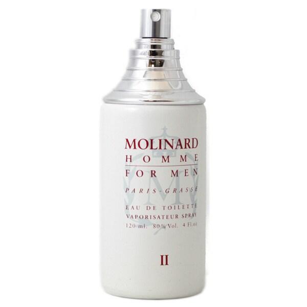 Molinard Homme II Men's 4.2-ounce Eau de Toilette Spray (Tester)