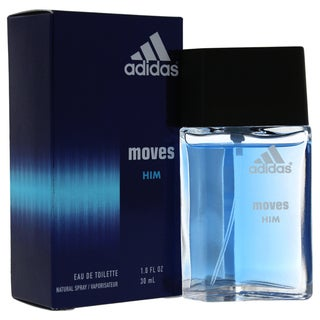 Adidas 'Moves' Men's Refreshing One-ounce Eau de Toilette Spray