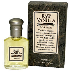 Coty Raw Vanilla Men's Fragrance Half-ounce Cologne Splash