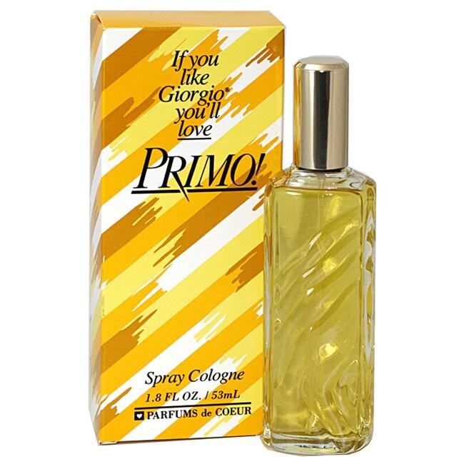 Parfums de Coeur Primo! Women's 1.8-ounce Cologne Spray
