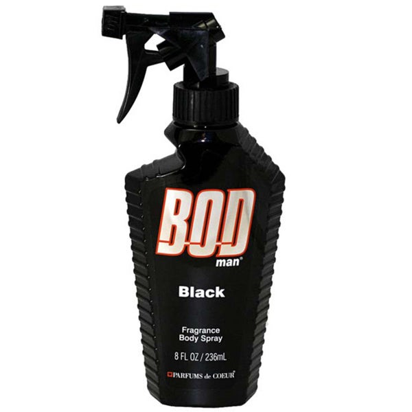 Bod Man Black Men's 8-ounce Fragrance Body Spray