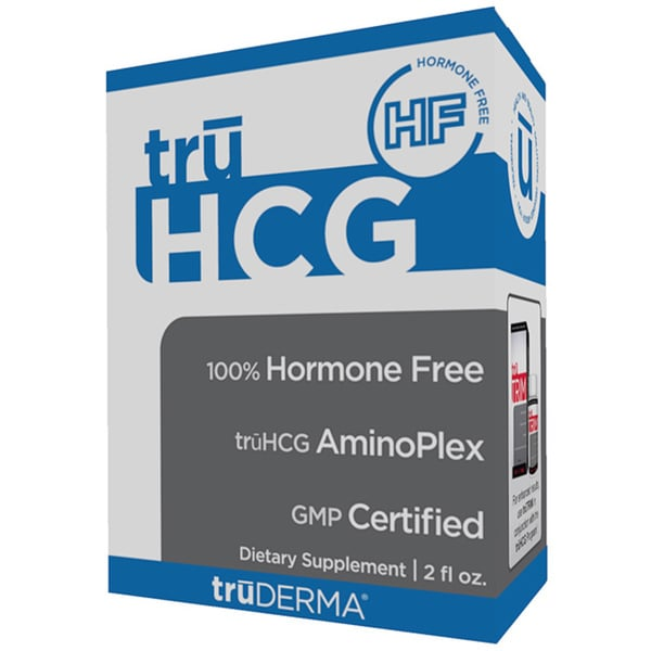 truDERMA truHCG 2-ounce Hormone-Free hCG Alternative