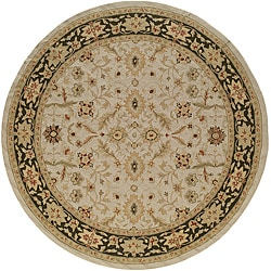 South Beach Persian Ivory Indoor/ Outdoor Rug (9' x 9')