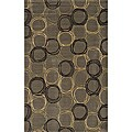 Soho Circles Wool Rug (2' x 3')