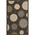 Soho Fashion Grey Wool Rug (9'6 x 13'6)