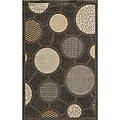 Soho Fashion Grey Wool Rug (8'0 x 11')